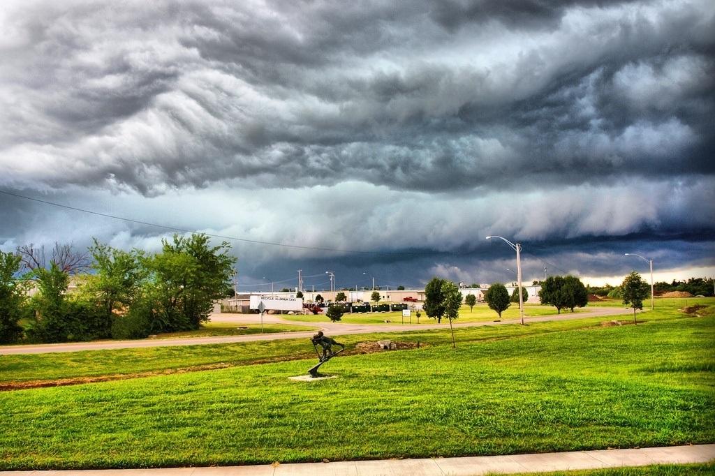 Stratus clouds - rain