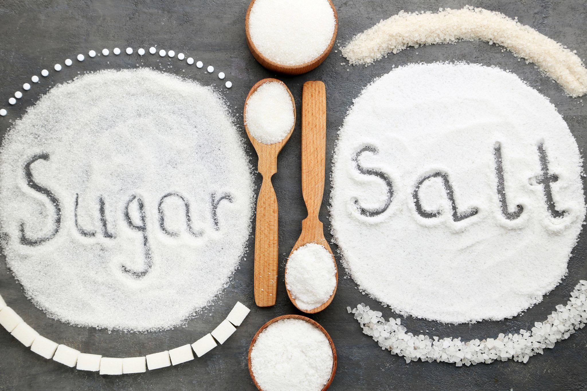 Salt and sugar