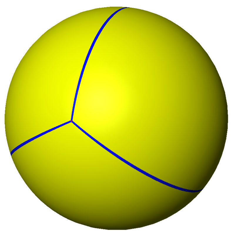Spherical tetrahedron