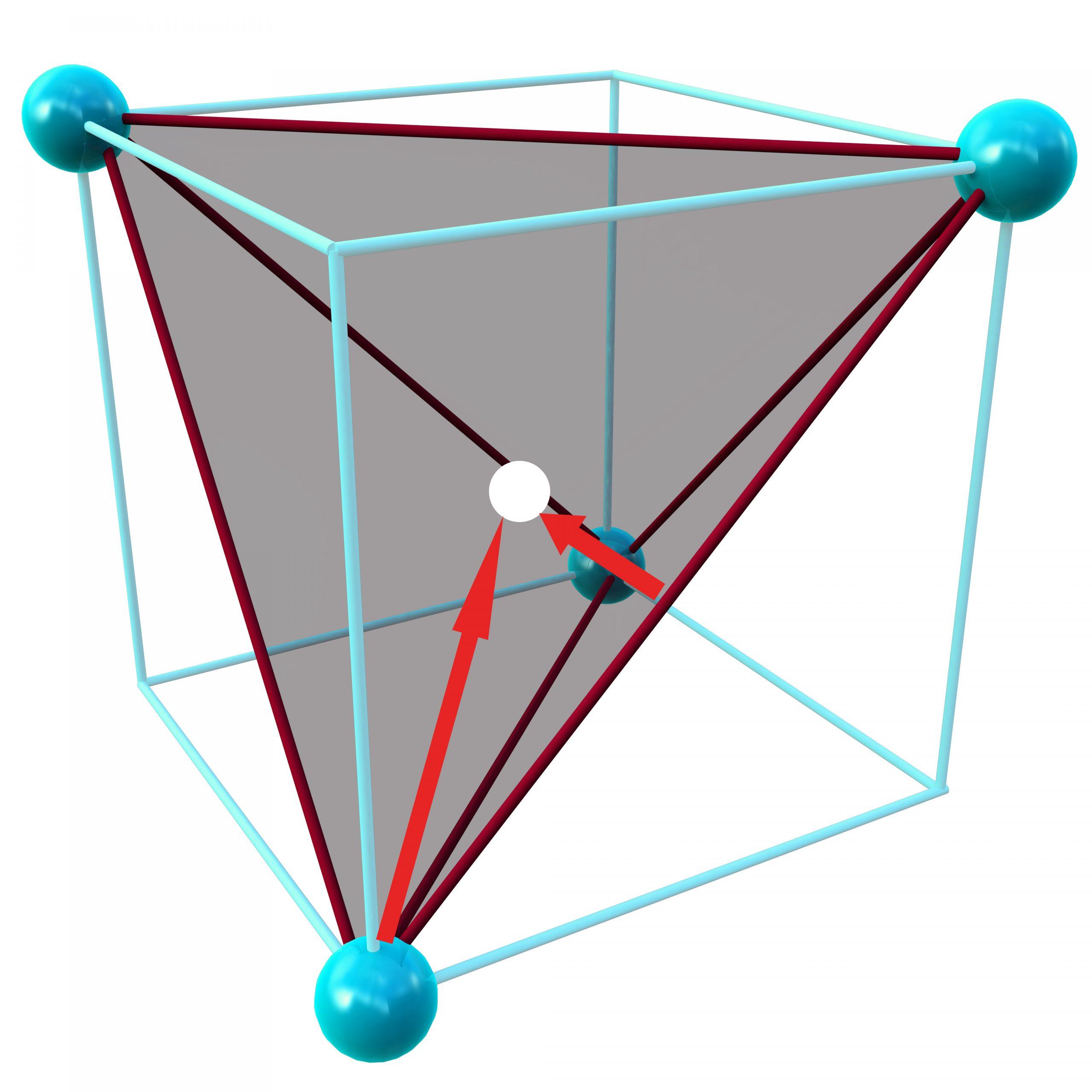 s orbital 2/3 closer to nucleus