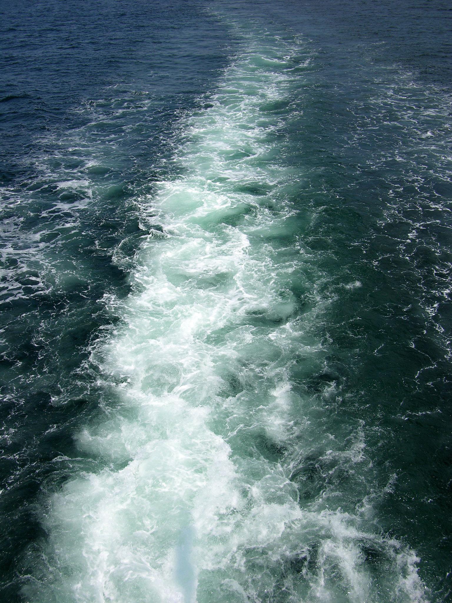 Ship's wake